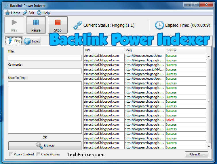 Backlink-Power-Indexer-Software