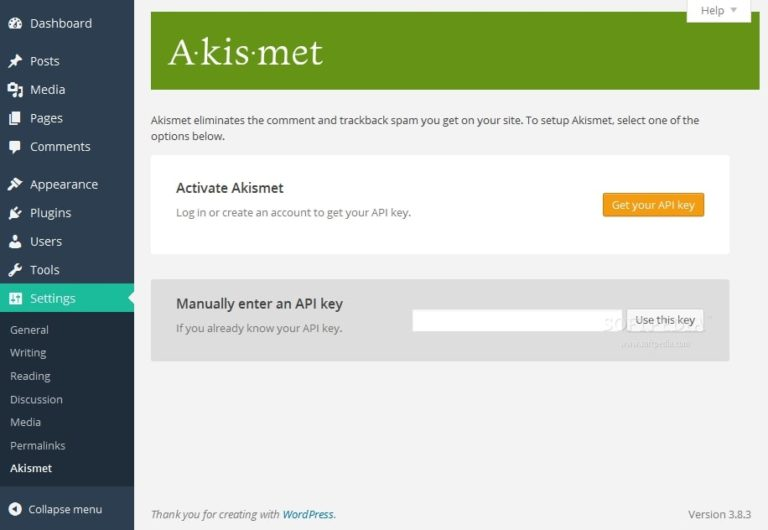 Akismet-Best WordPress Plugn for Spam Comments