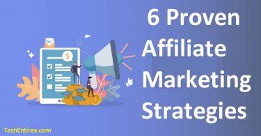 affiliate marketing strategies