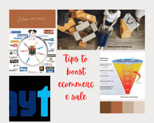 Tips to boost ecommerce sale